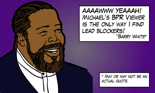 Barry White endorses my software ... probably