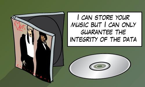 A CD of Milli Vanilli