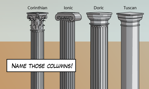 All the columns!